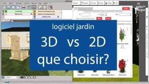 logiciel jardin 3d