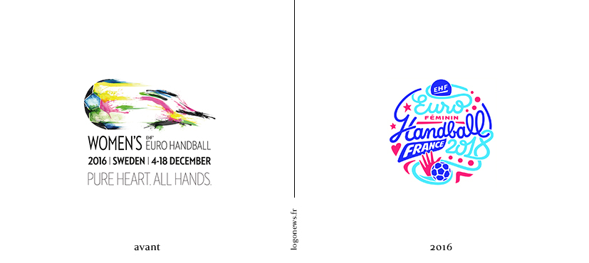L euro de handball f minin perd la boule et gagne un logo for Casser un miroir conjurer le sort