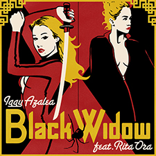 Iggy Azalea feat Rita Ora - Black Widow