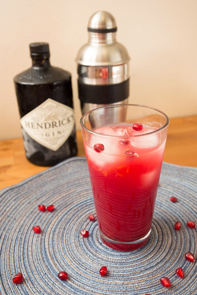 Pomegranate Gin Cocktail2