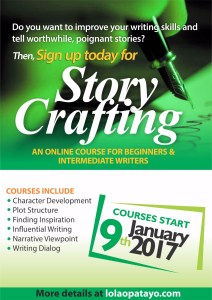 Register for my online writing course today! There are still spaces available.