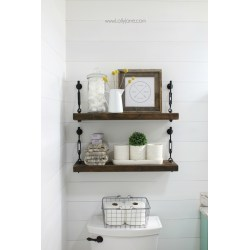 Small Crop Of White Shelf For Bathroom