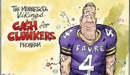 Brett Favre - MN Cash for Clunkers