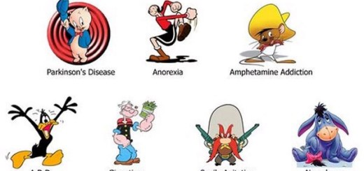 Cartoon Characters on Drugs