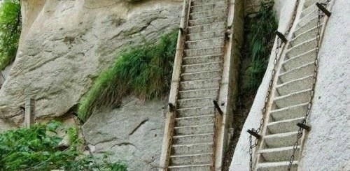 Stairway to Heaven. It's a Tough Climb.