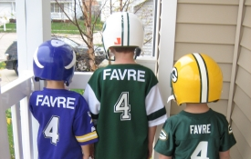 Brett Favre Backs