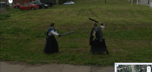Google Street View Catches Warriors Fighting WTH?