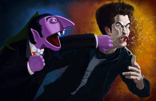 Vampire Fight: The Count vs Edward