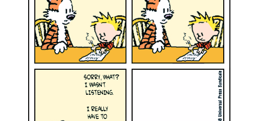 If Calvin Was Medicated, There'd Be No Hobbes