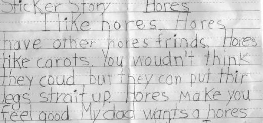 There's a Difference Between Horses & Hores.