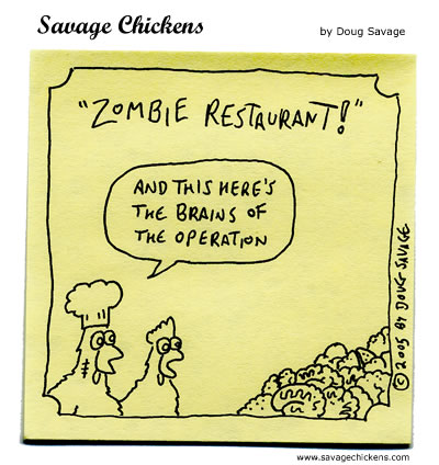 Zombie Restaurant - The Brains