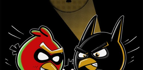 Angry Batman and Robin