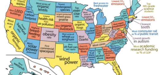 Most Awesome US Map