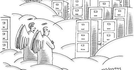 Cloud storage may be screwing up heaven.