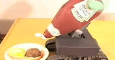 auto-ketchup-machine
