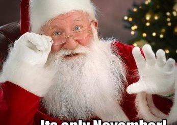 Calm Down. Santa