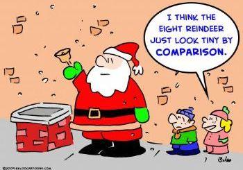Santa - Tiny Reindeer
