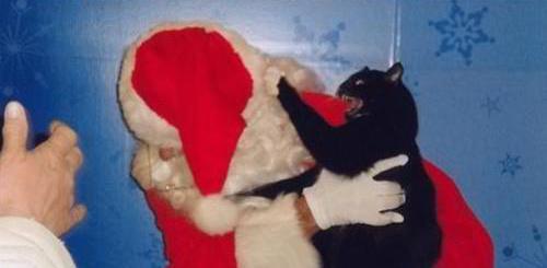 Imposter Santa!
