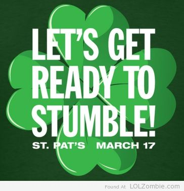 St Patricks Day Stumble