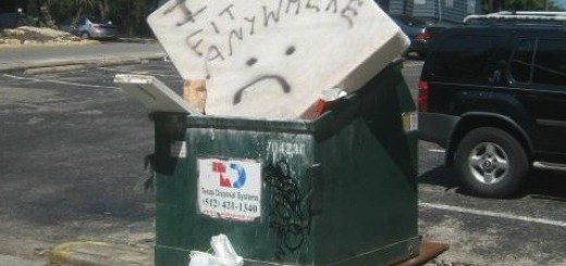Mattress in Dumpster