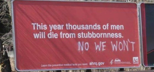 stubborn men die