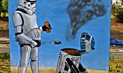 Stormtrooper BBQ