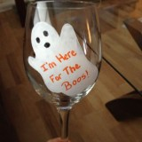Ghost Wine Glass