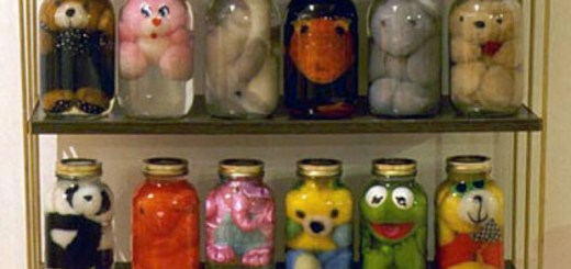 Jar Toy Storage