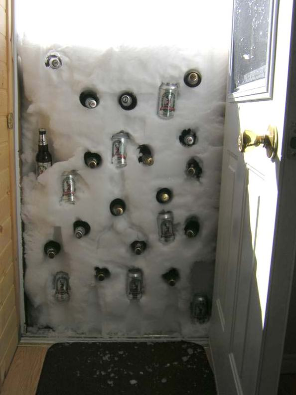 Snowed In Beer Cooler