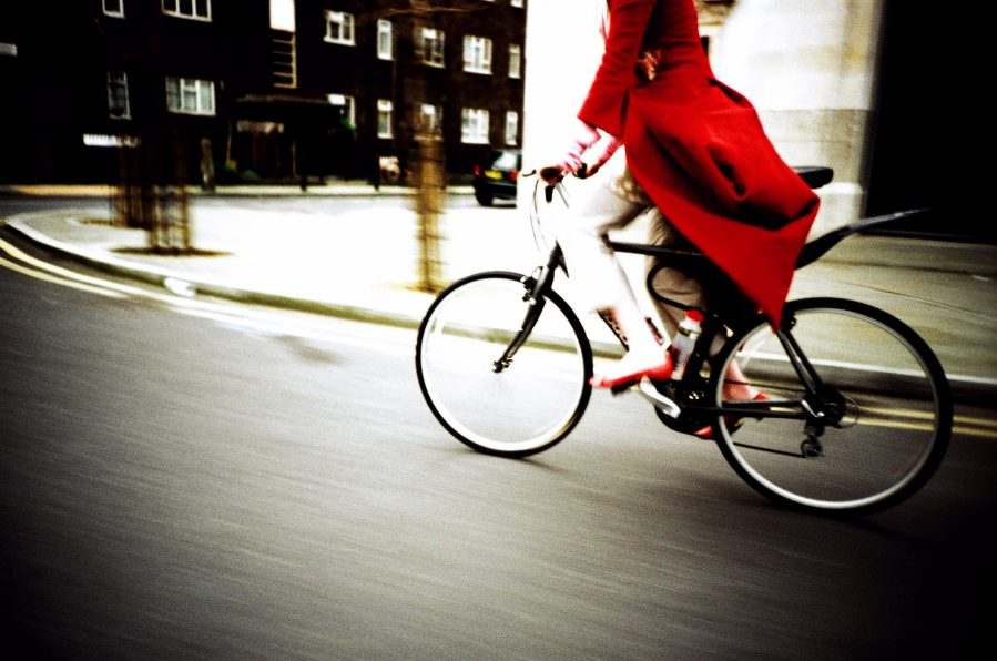 Imogen Heap Cycling though London - 2005