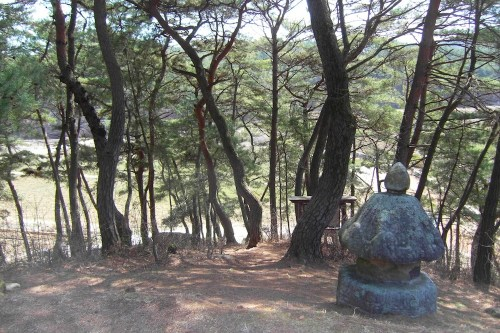 The original burial site of King Danjong's placenta