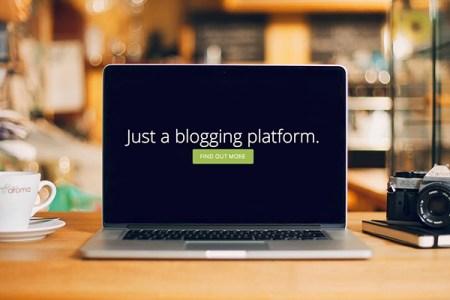 Ghost__Just_a_Blogging_Platform