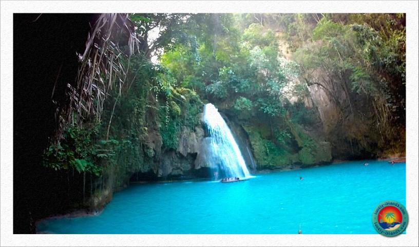 Kawasan Falls bei Moalboal auf Cebu