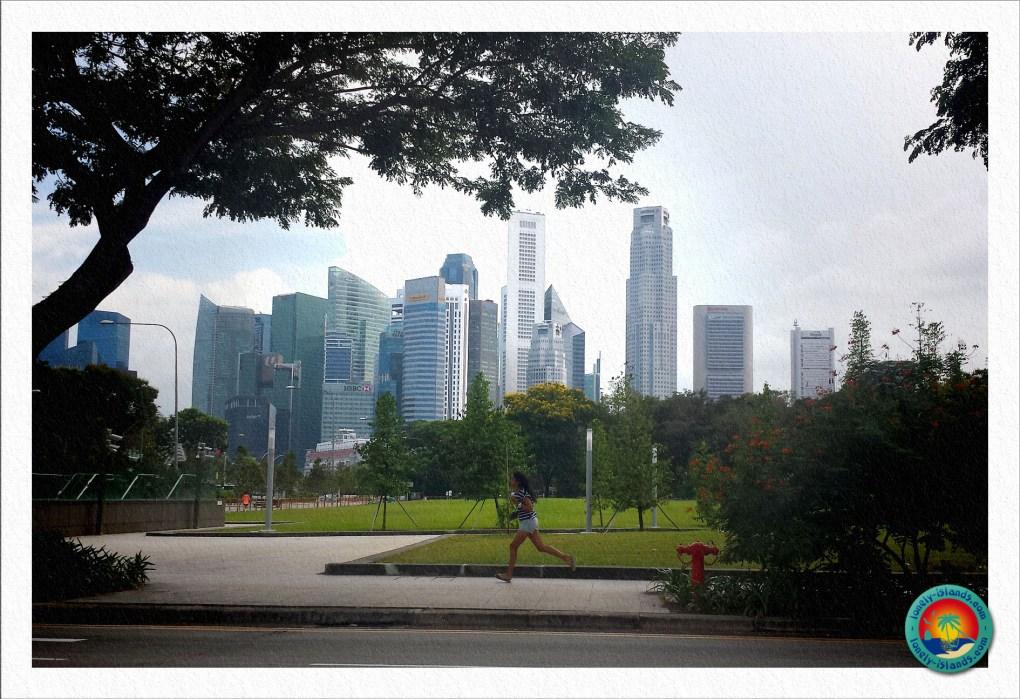 Sportliches Singapur