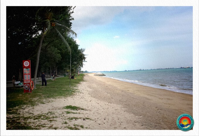 Strand im East Coast Park