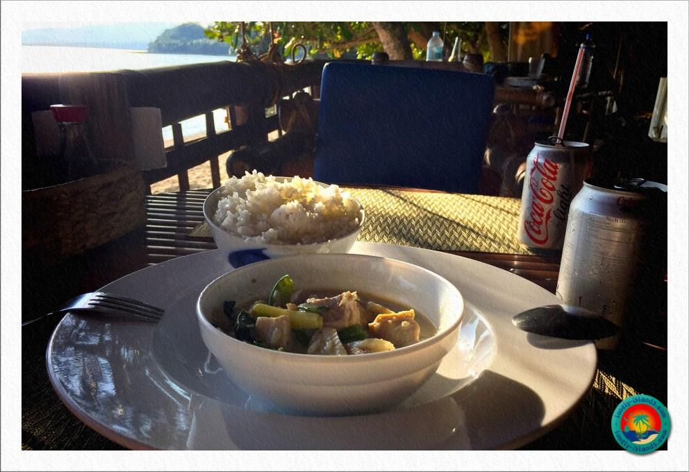 Thai Curry im Restaurant von Kokoo's Nest