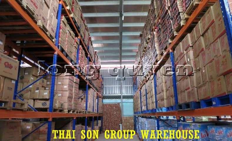Kệ chứa hàng pallet lựa chọn Selective Pallet Rack kho Thái Sơn Group (4)