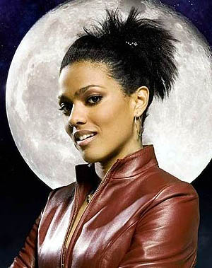 Black actress Freema Agyeman, who played longtime companion Dr. Martha Jones on Dr. Who.