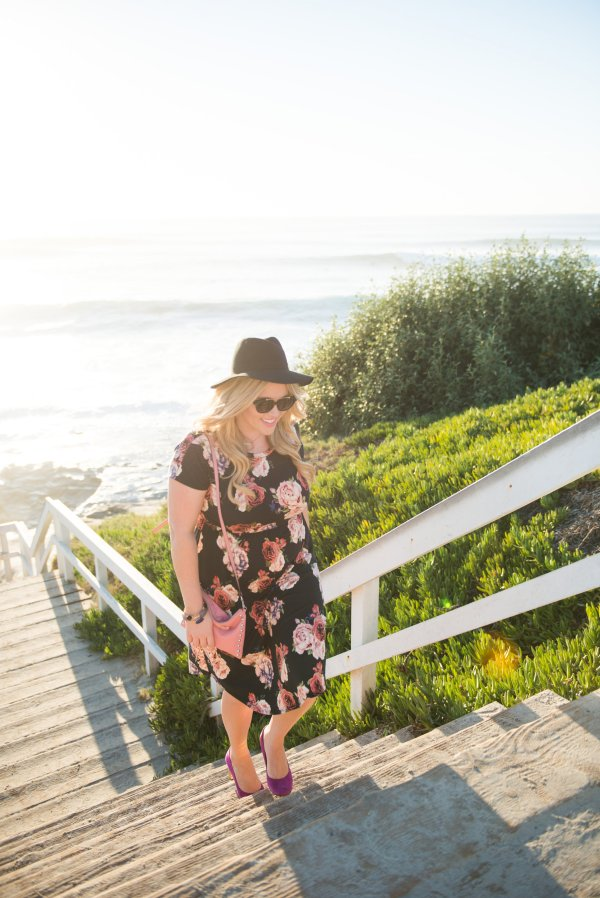 Styled by 5 xx Lettie Boutique Floral Dress, lettie boutique, floral dress, ootd, floral ootd, fashion blogger, style blogger