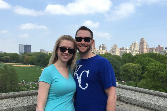 Castle overlooking Central Park.