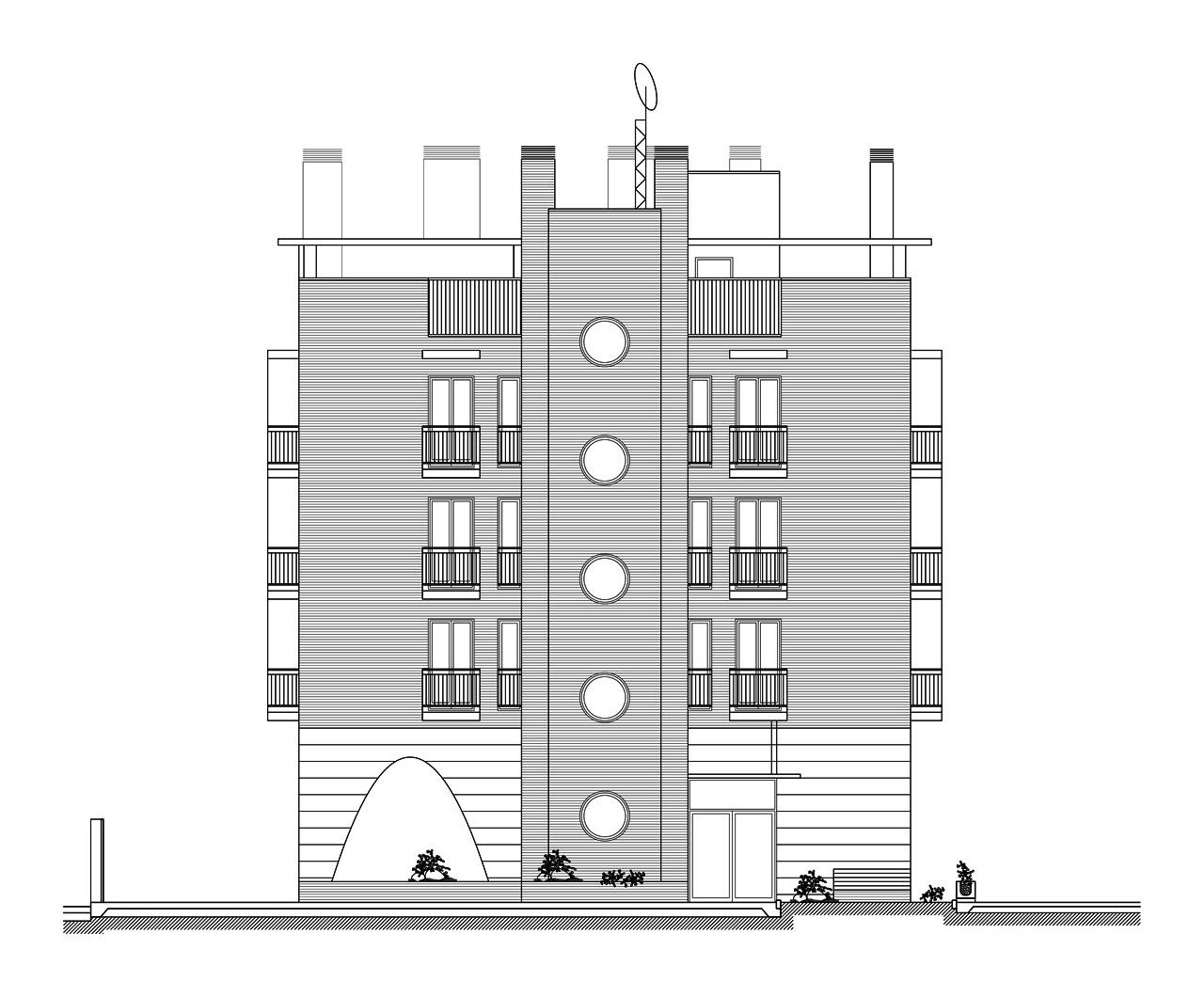 Viviendas locales comerciales y garaje en arturo soria - Arquitectos en soria ...