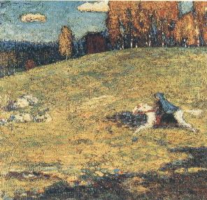 Kandinskij il cavaliere azzurro