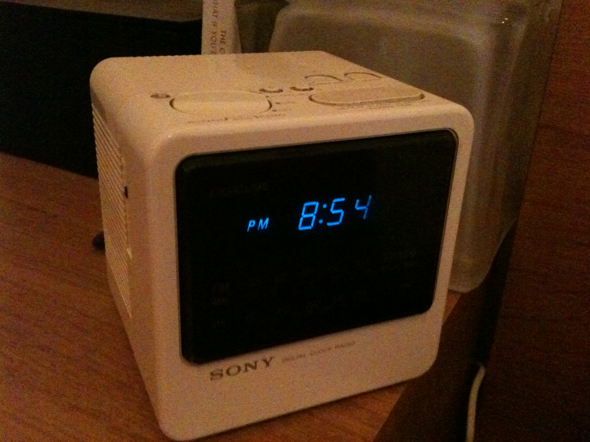 Pleasing Here Cockadoodle New Alarm Clock Lorn Pearson Digital Wall Clock Digital Alarm Clock furniture Pretty Digital Clock