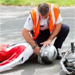ACCIDENTES DE MOTO CON LESIONES GRAVES