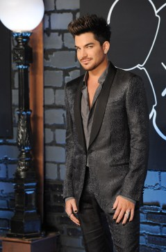 Adam Lambert in Lavin