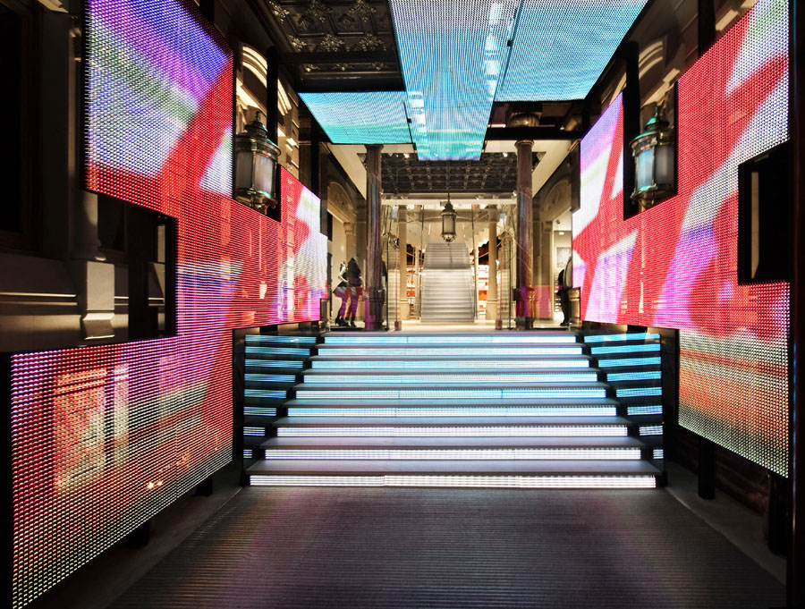 H&M's High-Technology Flagship Opening with Lady Gaga as Host