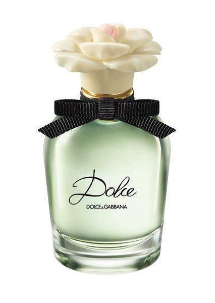 Dolce & Gabbana An intoxicating blend of white flowers, the new Dolce is an intensely feminine fragrance which the designers say was inspired by memories of Sicily and also the complexity of fine craftsmanship - much like the creation of one of their exquisitely embroidered dresses