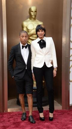 PHARRELL WILLIAMS, by LANVIN and HELEN LASICHANH