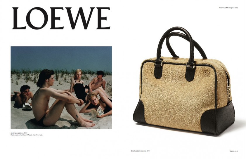Loewe's magnificent SS15 Ad Campaign