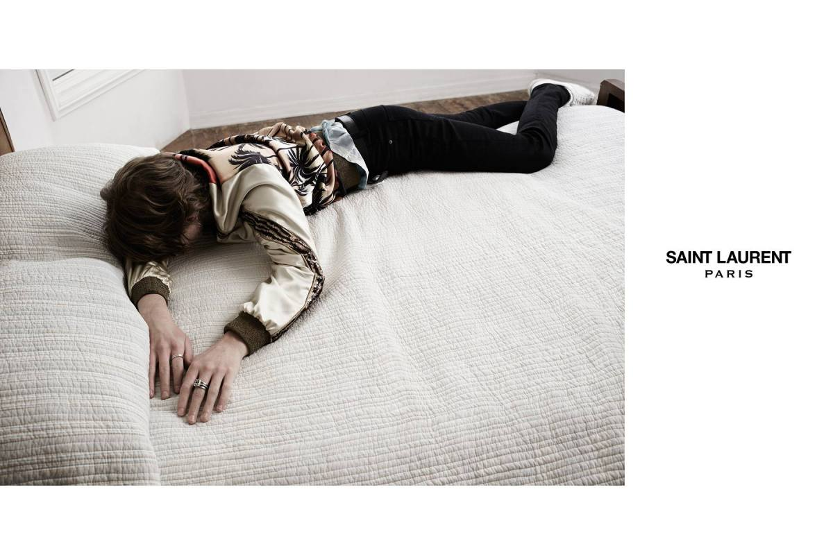 Saint Laurent Summer 2016 Campaign